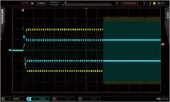 Linear CC mode, PWM 10A 2.5Hz to 250Hz