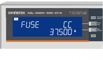 Turbo:OFF, Fuse mode Test result screen