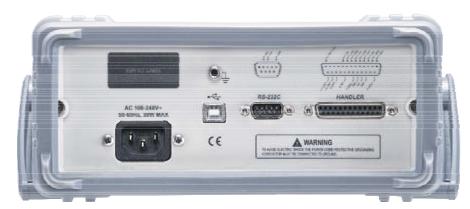 rear of GBM-3300 Battery Meter