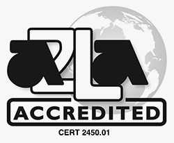 A2LA Accredited cert#2450.01