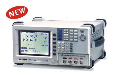 The LCR-8000G Series LCR meter, with test frequency up to 10MHz, provides accuracy, versatility and high resolution for a wide range of component measurements, even including DC resistance measurement and Voltage/Current monitoring. The Multi-Step function allows on-screen programming of customized measurement sequence with Pass/Fail indication. Each program includes 30 test steps and each test step can be set with selected parameters and test limits. Under Multi-Step operation, a tedious work routine can be done step by step automatically just at a press of a button. With Graph Mode, LCR-8110G, LCR-8105G and LCR-8101G display the component impedance response either over a wide range of test frequency sweep or over a wide range of test voltage sweep in a graph chart. This gives an analysis result of either impedance vs. frequency or impedance vs. applied voltage all at a glance. GPIB and RS-232C interfaces are available as standard for instrument control and test result display on the PC. The rich features of LCR-8000G Series easily make your measurement tasks done at a very competitive price.
