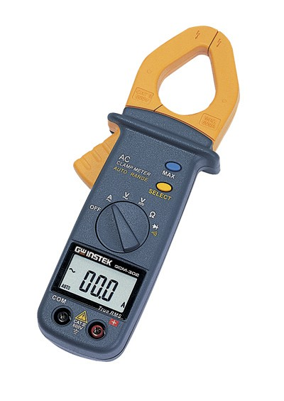 Mini Clamp Meters : Gw instek gcm mini clamp meter