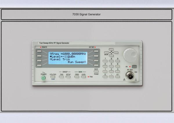 Signal Generator Calibration Output : Time electronics rf signal generator module