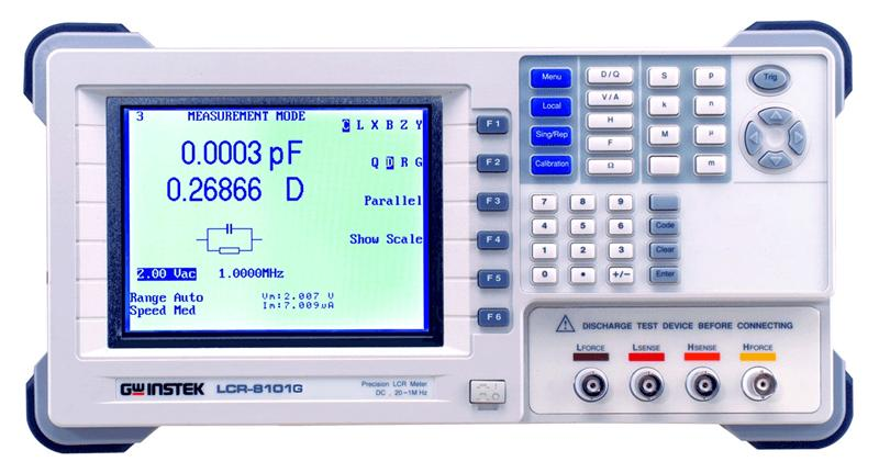 Lcr Meter High Voltage : Component test inst product category page