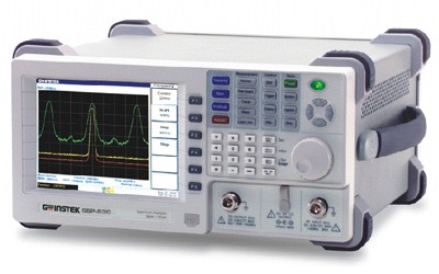 """Low Noise Floor(-117dBm@1GHz, 3k RBW) Autoset Function Sequence Programming Functions. ACPR, OCBW, Channel Power, N-dB and Phase Noise Measurements. Pass/Fail Test with Limit Line Editing. 10 Peak Functions. Split Windows Allow Separate Settings. AC/DC/Battery Multi-Mode Power Operation. USB/RS-232C/GPIB(Optional) Interface. Direct VGA Output. 6.4"""" TFT Color LCD, Resolution: 640x480. Compact Size,330(W)x170(H)x340(D)mm Light Weight of 6kg Without Options Optional Tracking Generator."""