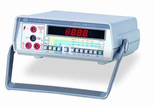 """Instek GDM-8135: 7 Functions AC/DC Voltage, AC/DC Current, Resistance, Diode Test and Continuity Beeper - Large 0.5"""" Red LED Display - High Voltage 1200V and 20A Current Range - All Range with Protection Circuit - 0.1% DCV Accuracy - Auto Zero Circuit"""