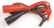 4 foot Large Alligator Clip Leads for Insulation Resistance Testers