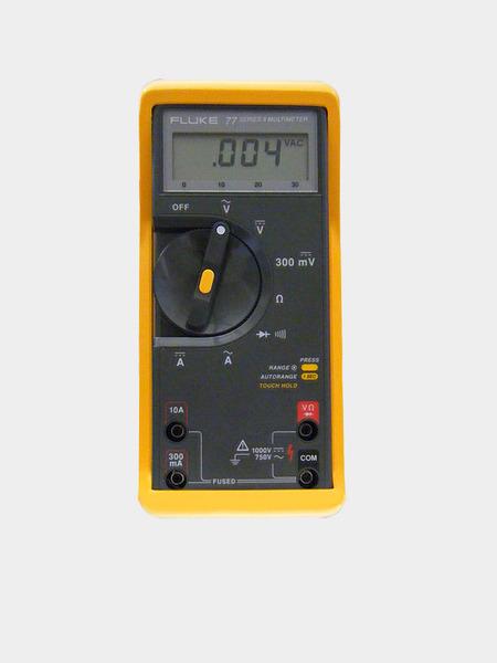 Fluke 77 Multimeter : Fluke digital multimeter discontinued process