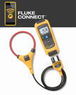 AC/DC current module that wirelessly relays measurements from current clamp accessories to other Fluke Connect™ enabled master units