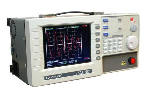 Motor Winding Tester : Leaptronix iwt a impulse winding tester safety