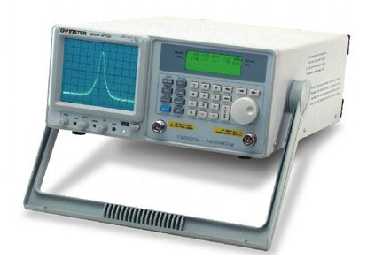 GSP-810: Frequency Range: 150kHz~1GHz - Fully Digital Phase Locked Loop Technique Design - High Frequency Stability: /- 10ppm - High Resolution of Span to Measure the More Detailed Signal: Zero, 2kHz~100MHz/div - RBW: 3k, 30k, 220k, 4MHz - High Input Protection Level: 30dBm, /-25VDC - Reference Level Range: -30dBm~ 20dBm - Good Noise Floor Performance: -95dBm @30kHz, -100dBm Typical @220kHz RBW - Two Markers for Absolute and Relative Measurement - Functions: Max. Hold, Average(2~32 Traces), Freeze, Peak Search, Marker to Center Functions - 9 Memories of Save/Recall - RS-232C Interface and Software to get Trace from GSP-810 to PC