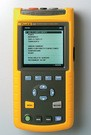 Fluke 43B: Voltage, current and power harmonics up to 51st - Total harmonic distortion (THD) - Phase angle of individual harmonics - New! FlukeView v3.0 software with enhanced analysis and documentation capabilities - Continuously measure volts and amps cycle-by-cycle for up to 16 days - Cursors give time and date of sags and swells - Watts, power factor, displacement power factor, VA and VAR - Voltage and current waveforms - Calculates 3-phase power on balanced loads from a single-phase measurement - Catch up to 40 voltage transients and waveform distortions - Correlate the cause of distortion with time and date stamps