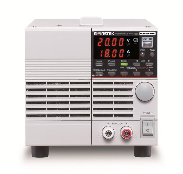 (0~20V/ 0~18A/ 360W) Programmable DC Power Supply