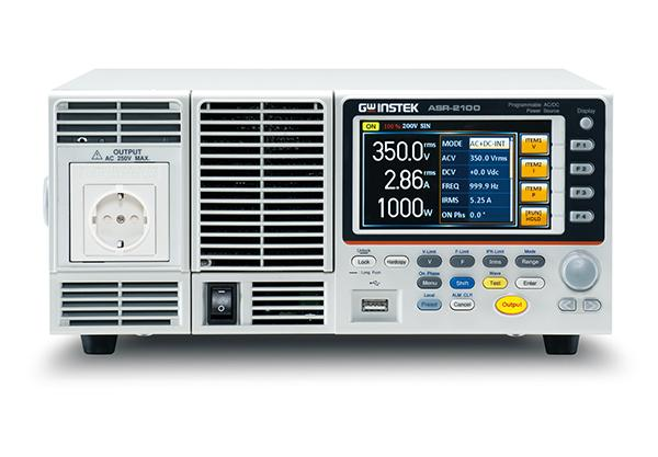 Output Rating: AC 0 – 350 Vrms, DC 0 - ± 500 V; Output Frequency up to 999.9 Hz; DC Output (100% of Rated Power)
