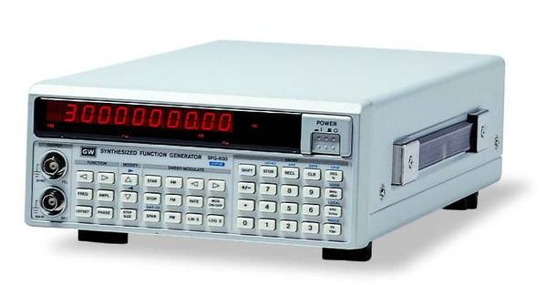 The SFG-830 Series 30MHz Arbitrary Function Generator is one of the most versatile and highly qualitative signal generators utilizing DDS techniques. They not only offer the standard generator functions but also provide accurate modulations, sweep, and arbitrary waveform generation. The free editing software allows professional users to obtain, edit, or create frequency and amplitude characteristics as desired through RS-232C interface or GPIB interface (SFG-830G). The SFG-830 Series is suited to simulate all signals encountered including both ideal and abnormal conditions. For applications, such as product design, manufacturing testing, automotive, and sensor stimulation, the SFG-830 Series is the best solution provider for generating arbitrary waveforms.