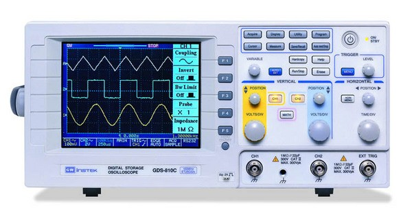 "250MHz Bandwidth with Color (320*240)5.7"" LCD Display