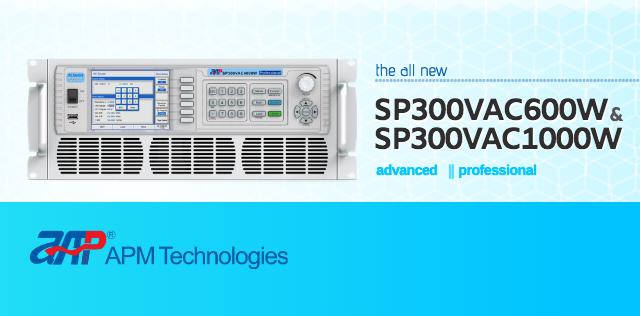 the all new SP300VAC600W & SP300VAC1000W (advanced & professional models)