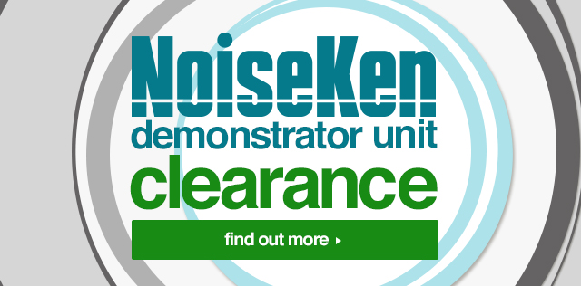 Noiseken Demonstrator Units are Available for Clearance