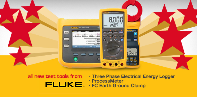 Fluke All New Test Tools 2017