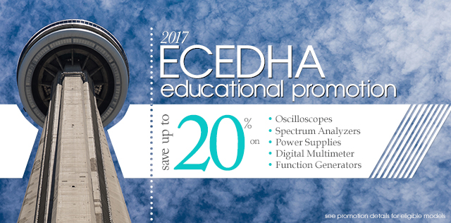 ECEDHA Educational Promotion - Save up to 20% on select GW Instek