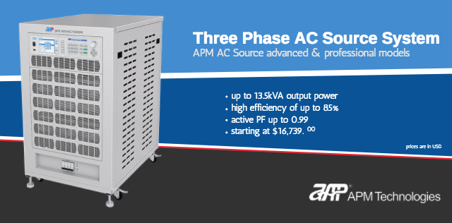 Three Phase AC Source System
