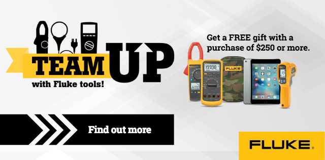 Team Up with Fluke Tools!