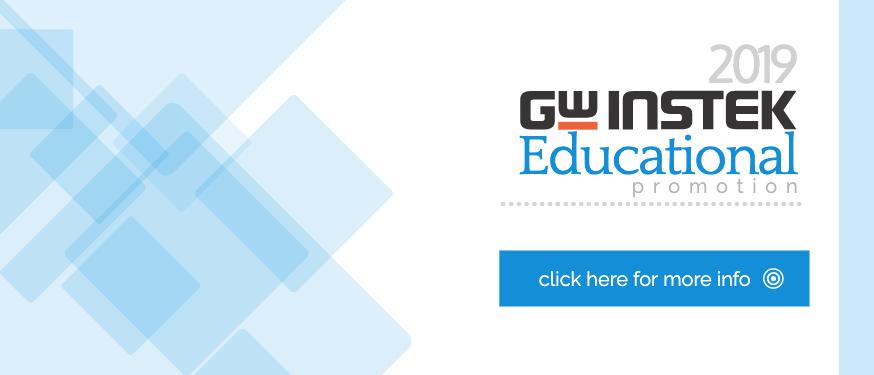 2019 GW Instek Education Promotion