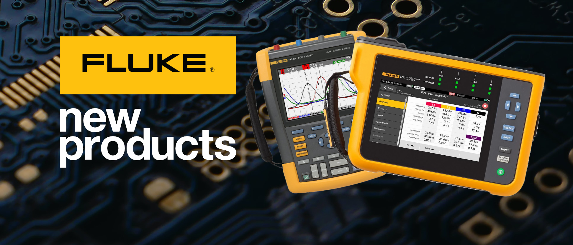 All new Products from Fluke